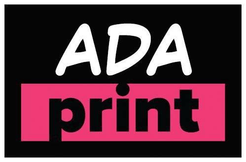 ADA Print logo